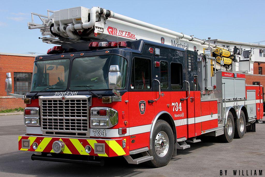 Firefighters Montréal Fire trucks, Fire dept, Fire equipment