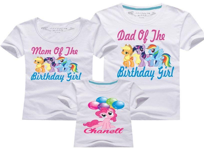 31ec4e1d My Little Pony Birthday Shirts | Alyssa 4 in 2019 | My little pony ...