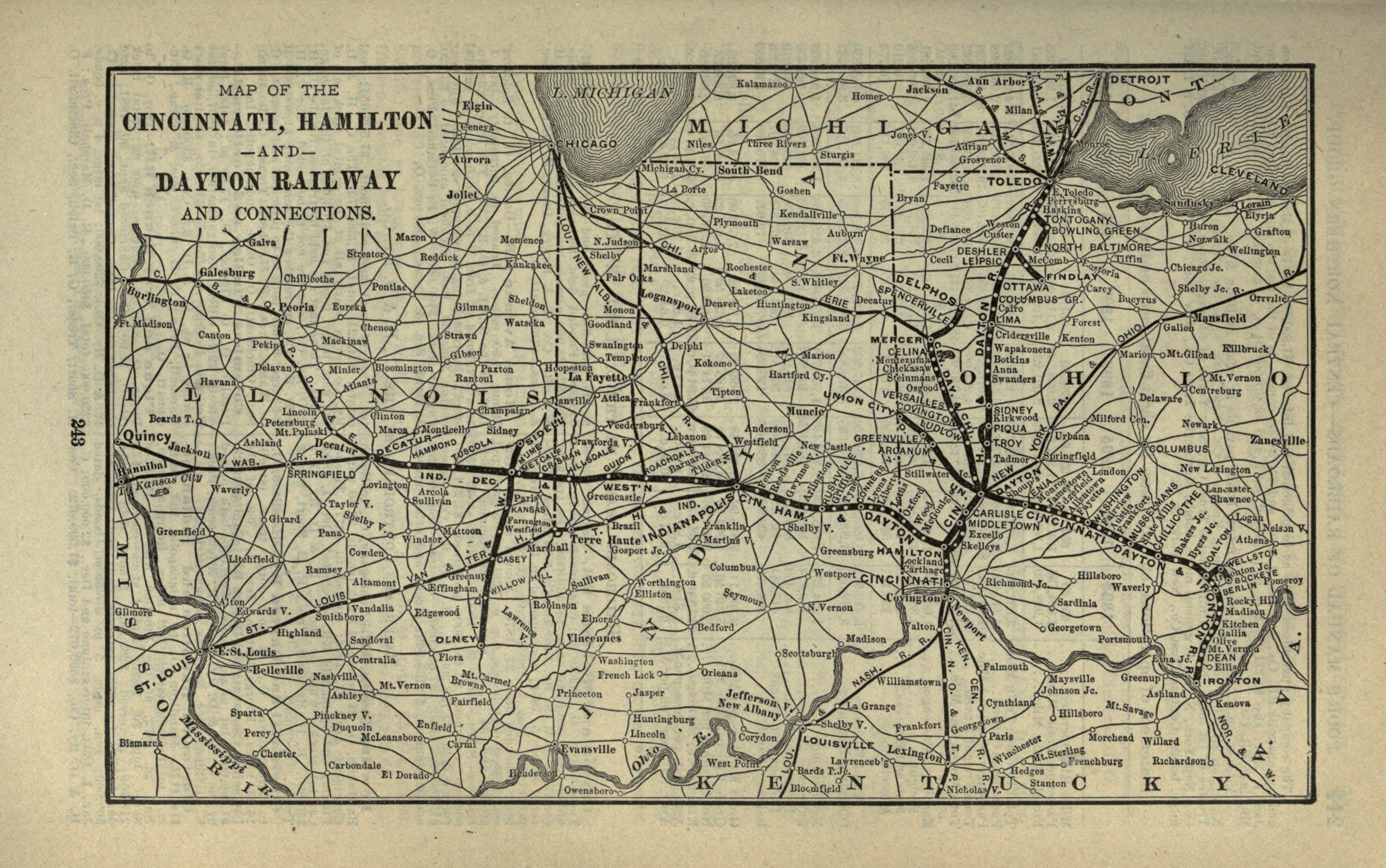 Historical Information On The Greater Cincinnati Region