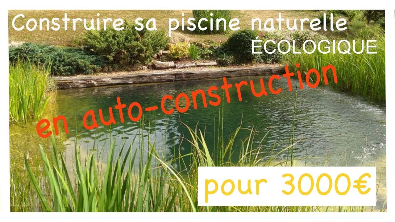 Construction Piscine Naturelle Ecologique Pas Cher 3000 Les Etapes Clees En 2020 Construction Piscine Piscine Naturelle Piscine