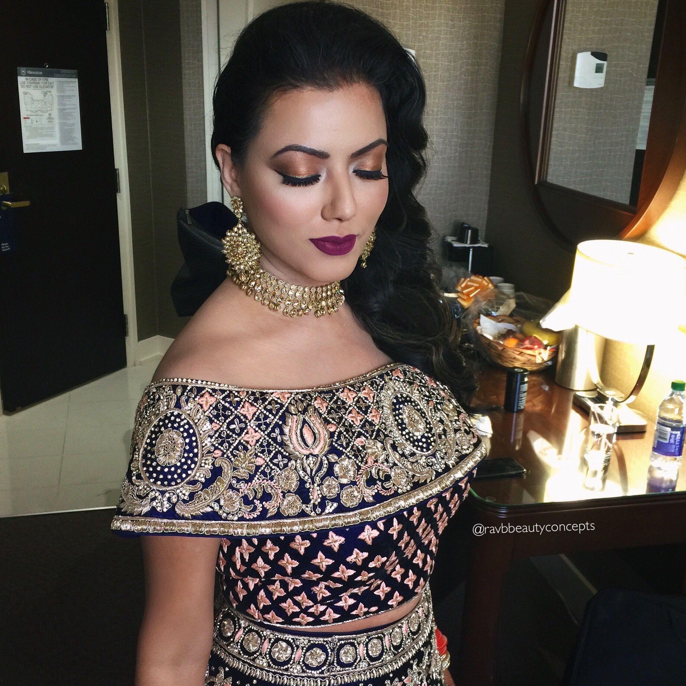bridal makeup, bridal hair, indian bridal makeup, indian bridal