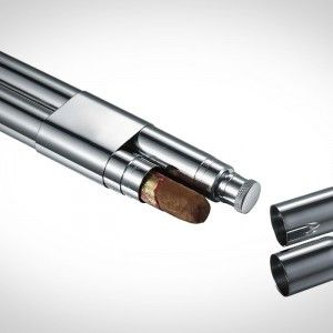 REVEL CIGAR AND FLASK TUBE