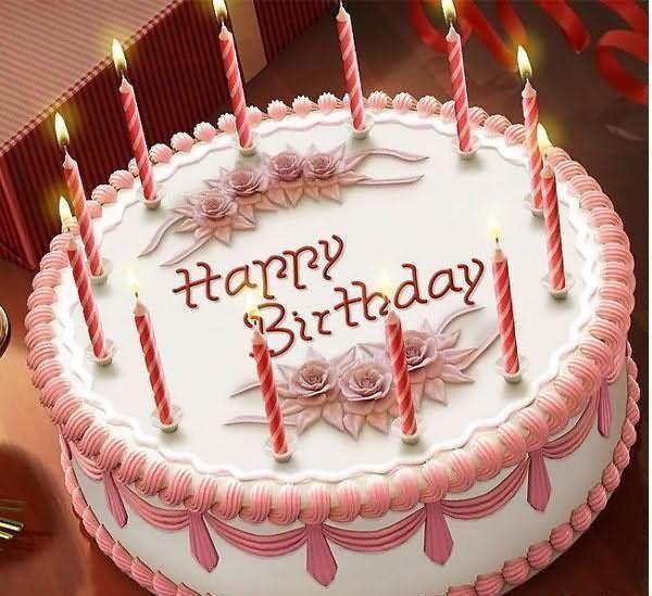 Happy Birthday Cake With Name And Photo Naveen Bhai Pinterest
