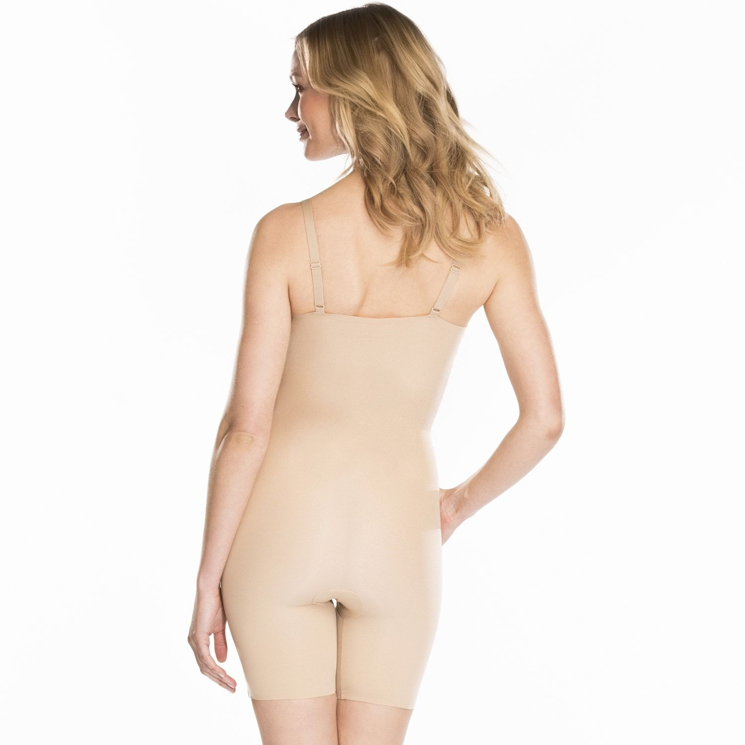 5133456d7bbc5 Red Hot by Spanx Clever Controllers Mid-Thigh Body Shaper SS3515 - Women s   Clever