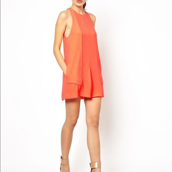 Finder's Keepers Orange Dress XS Brand new worn once no damage! Finders Keepers Dresses Mini