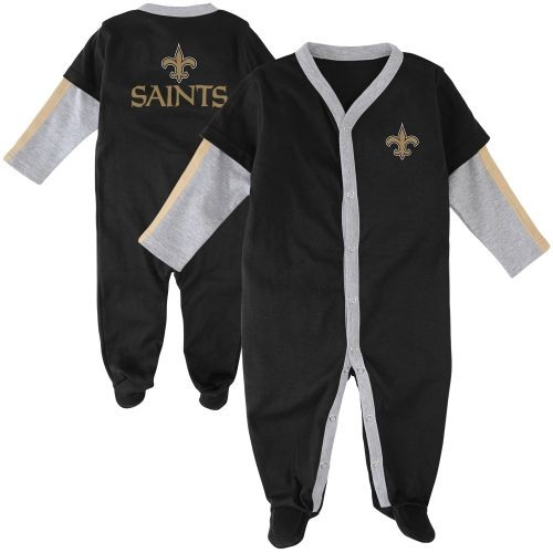 cheaper 6c327 aa598 New Orleans Saints Newborn Jersey Long Sleeve Coverall ...