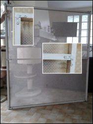 moustiquaire de protection pour les chats bricolage. Black Bedroom Furniture Sets. Home Design Ideas