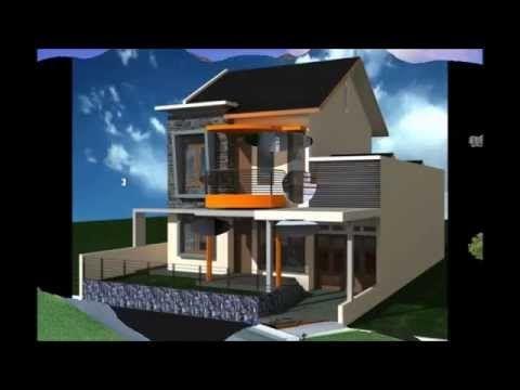 desain rumah sederhana 2 lantai 2015 | desain rumah, rumah