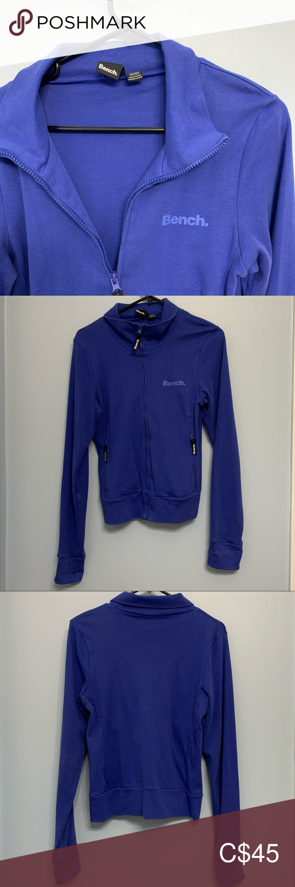 Blue Bench Zip Up Jacket Bench Jackets Blue Bench Jackets For Women