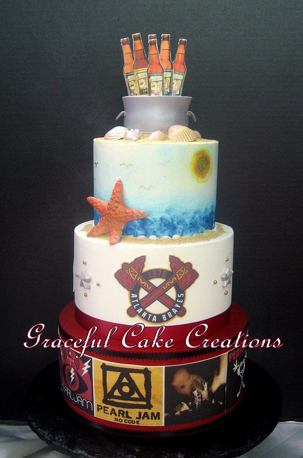 Multi Themed Grooms Cake In 2019
