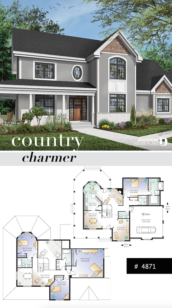 Discover The Plan 4871 Tristan Which Will Please You For Its 4