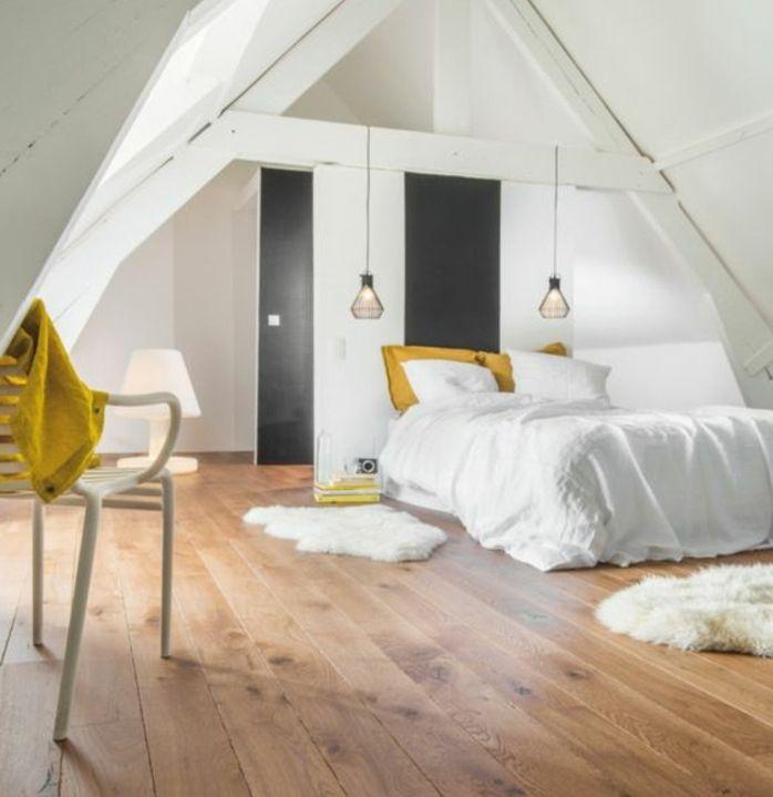 ▷1001+ idées déco de chambre sous pente cocoon | Linge de lit ...