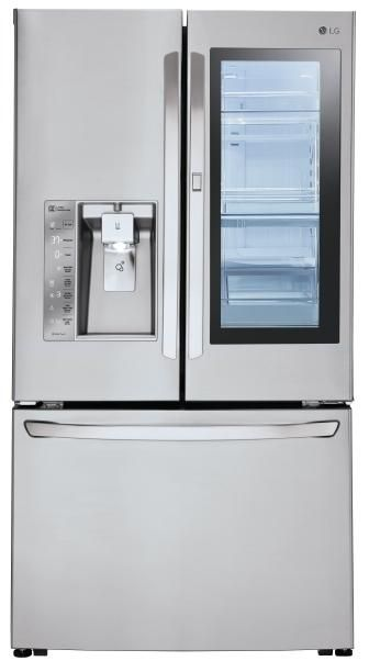 Lg Lfxc24796s 36 Inch Stainless Steel Counter Depth French Door Refrigerator In Stainless Steel Samsung Refrigerator French Door Counter Depth French Door Refrigerator Lg French Door Refrigerator