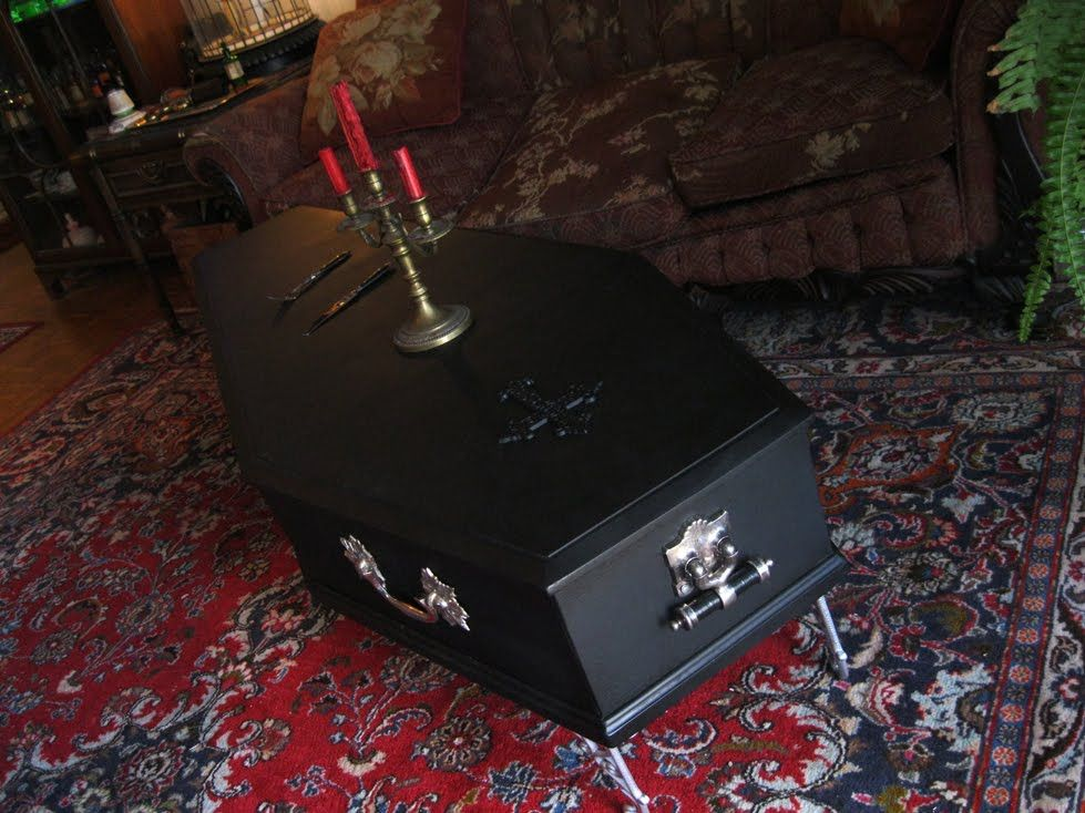 Coffin Coffee Table THE TOMB THAT WEEPS BLOOD Pinterest