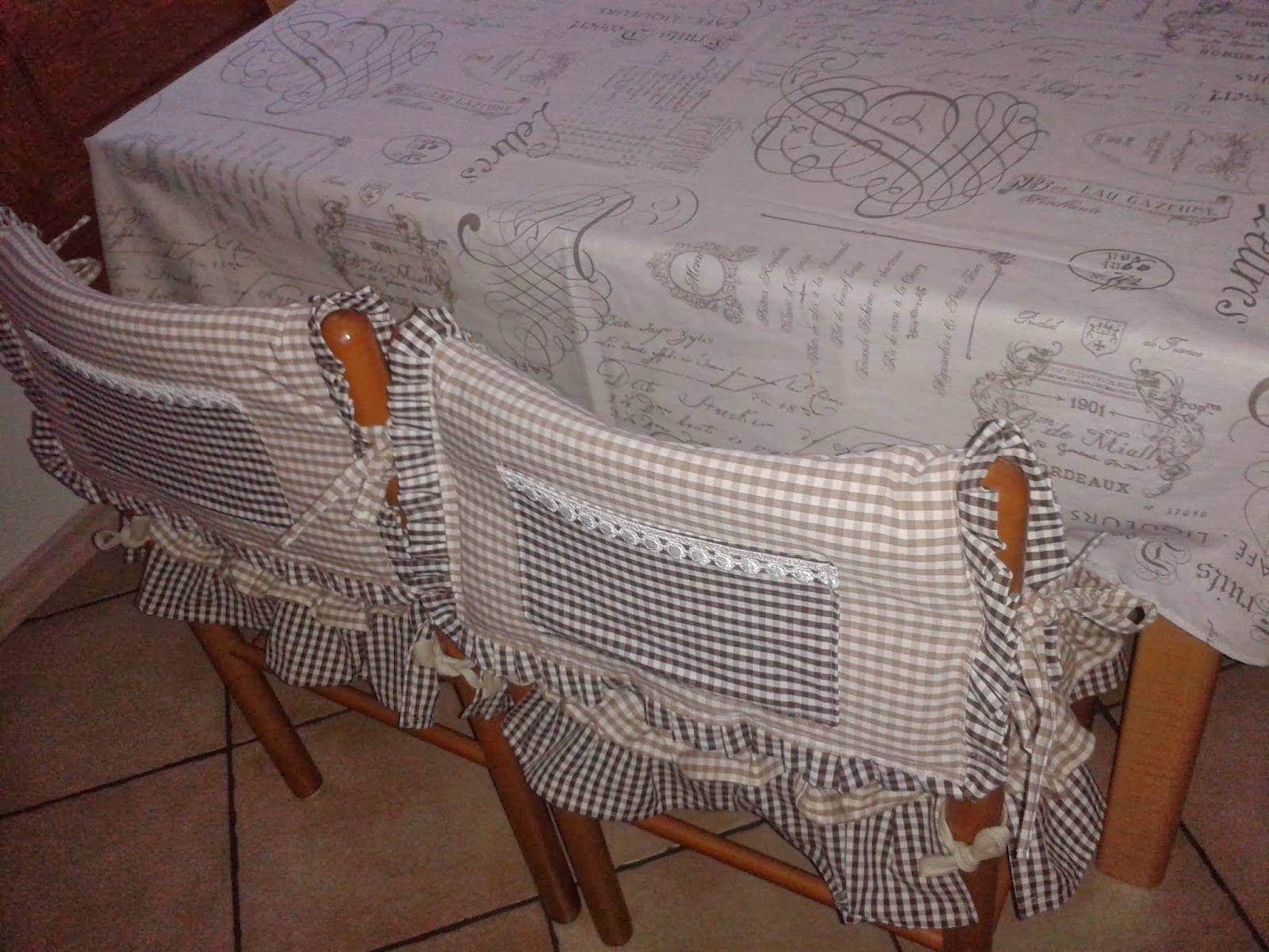 Ricoprire sedie ~ Vestito utilizzato per rivestire le sedie mar sedie mar