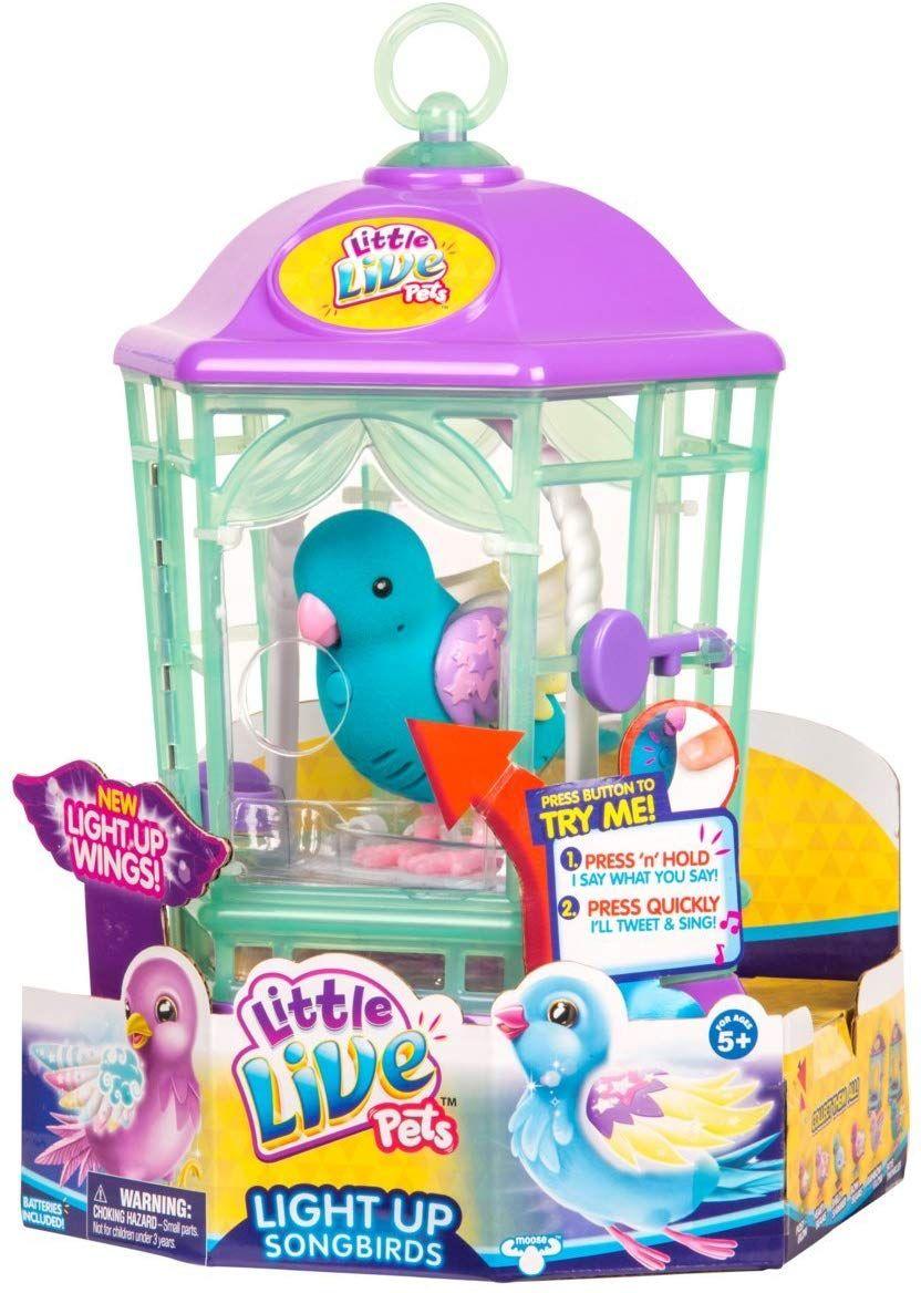 Moose Toys 28547 Bird S8 With Cage Rainbow Glow Amazon Ca Toys