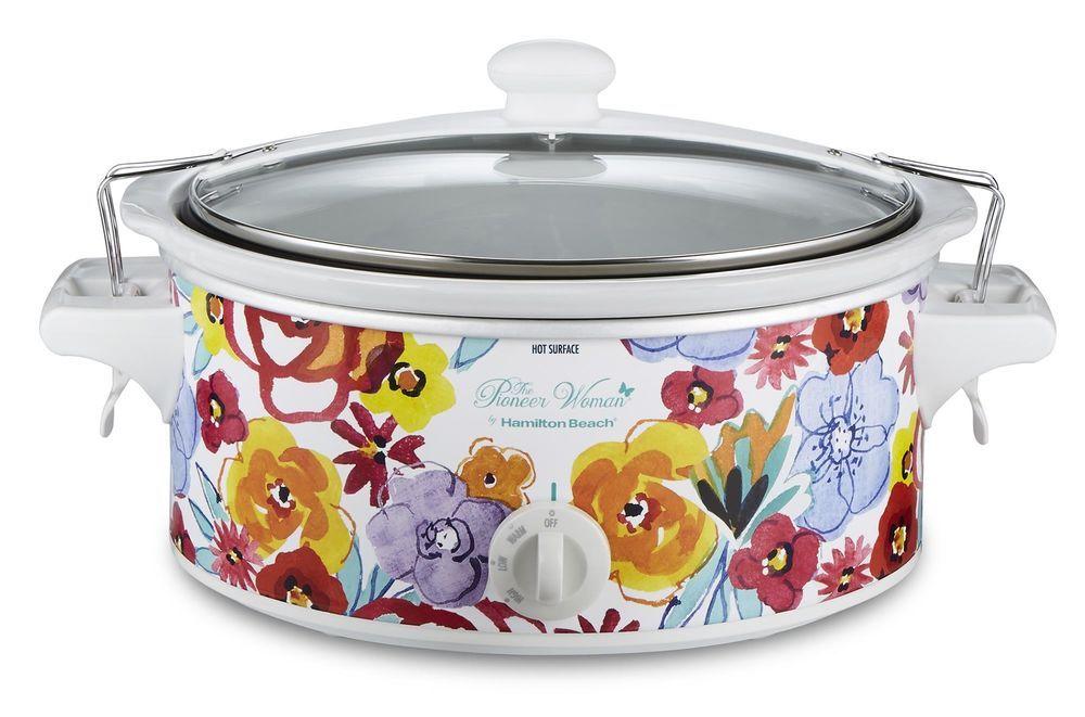 6 quart portable slow cooker flea market warm removable