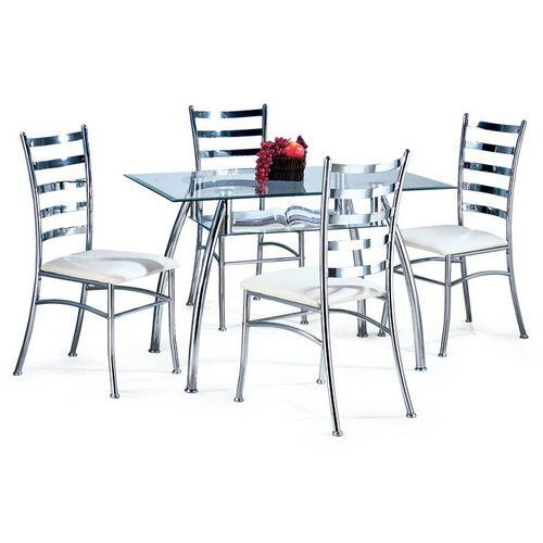23+ Dining table set 4 seater steel Inspiration