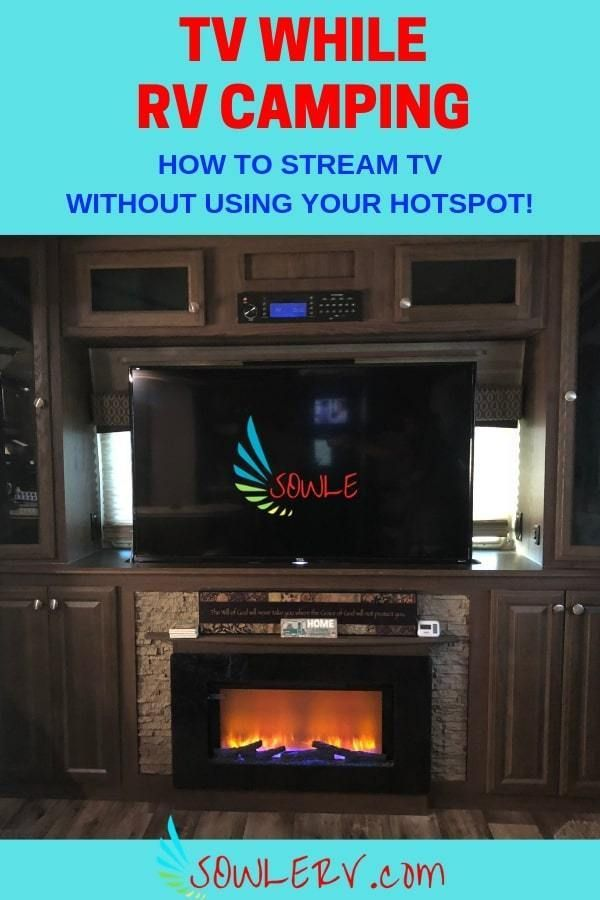 SOWLE RV | TV While RV Camping #rvcamping
