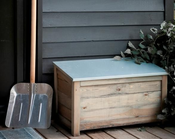 Outdoor Storage Box   Garden Furniture  Outdoor Living   Home Furnishing  from Jo Alexander. Wooden Garden Storage Box  Home Storage   Jo Alexander   mudroom