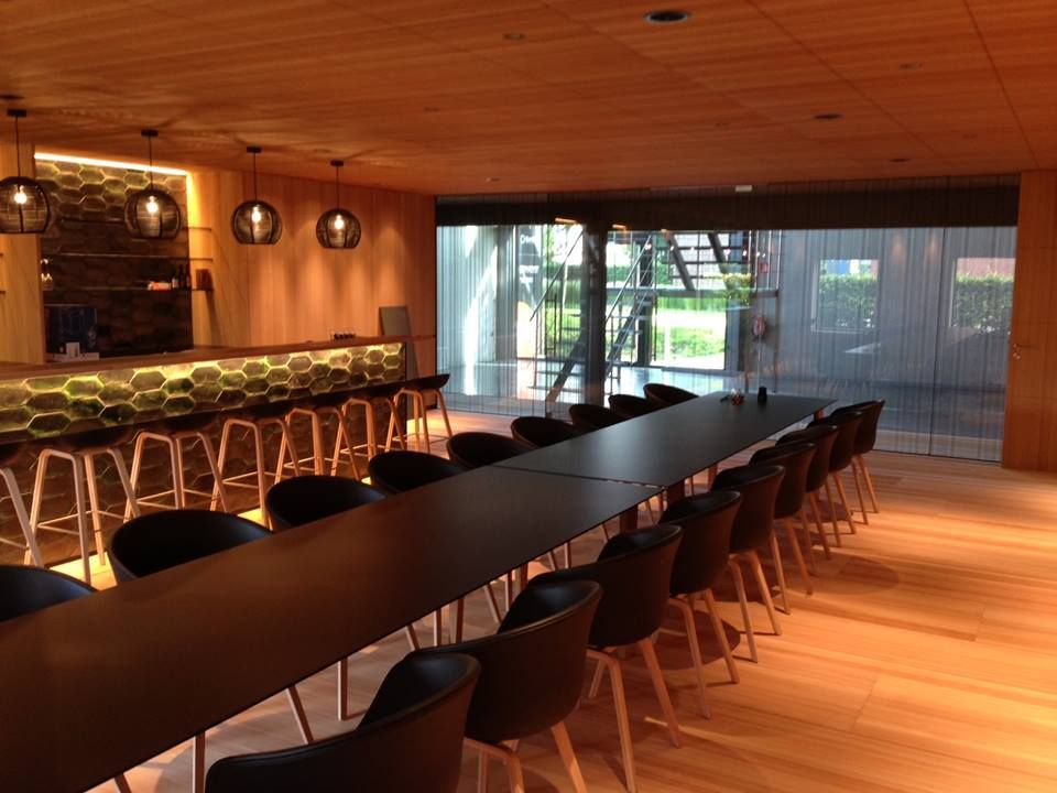 South Barrington Dining Room Project: SANGHA's Black DARK HOF TER WEZE Roeselare Private Dining