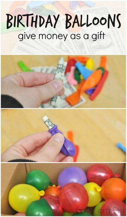 Shes Crafty Birthday Balloons