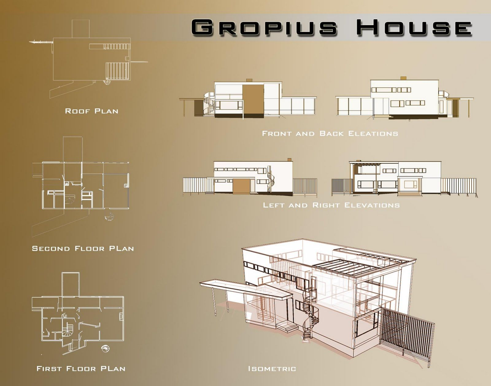 Gropius house bauhaus pinterest bauhaus arch and for Architectural flooring