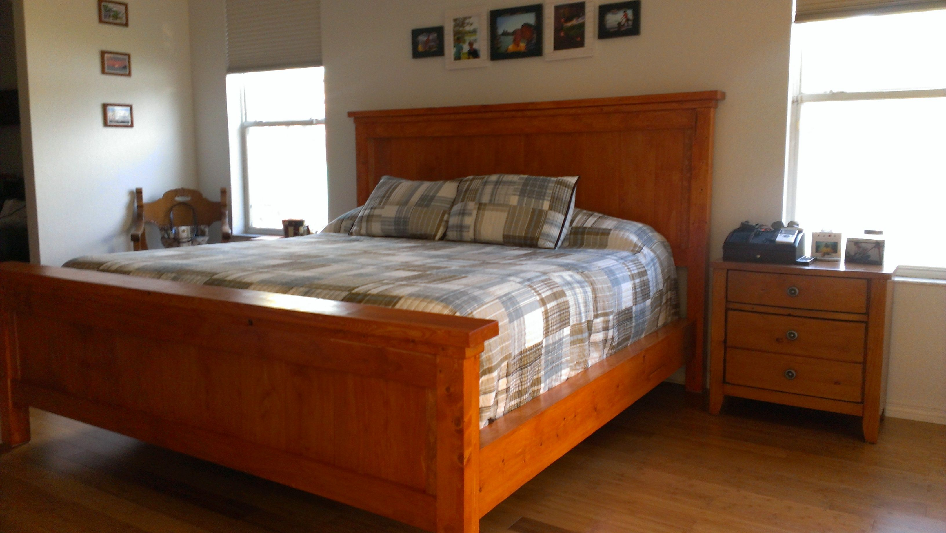 King Farm Bed Do It Yourself Home Projects from Ana