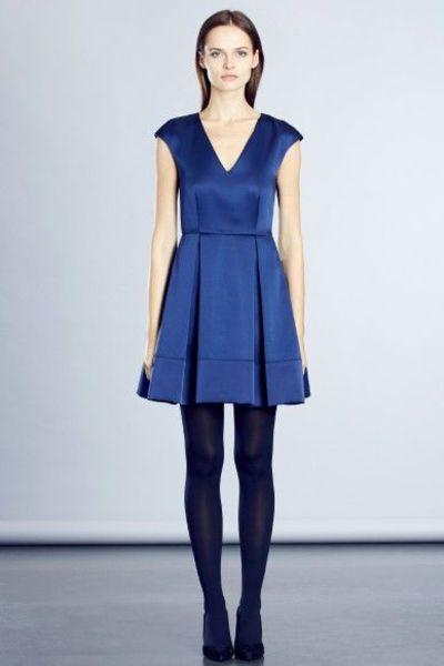 Robe bleu marine zapa