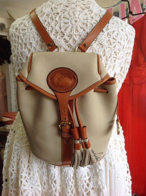 The Greatest backpack By DOONEY \u0026 BOURKE Vintage. on Etsy
