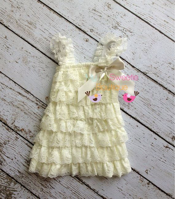 Ivory+dress+newborn+dress+Lace+dress+baby+by+MyLilSweetieBoutique,+$24.95