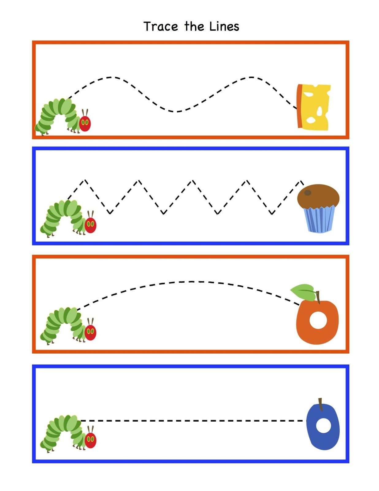 Very Hungry Caterpillar Free Printables