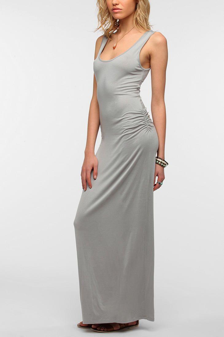 Staring At Stars Classic Slub Maxi Dress The Dress Shoppe