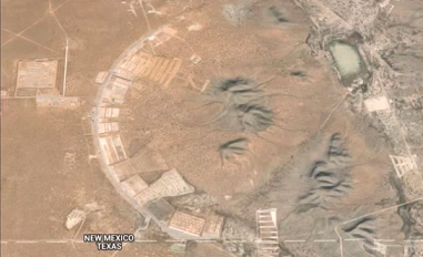 Mysterious Land Pops Up Near El Paso On Google Maps (Video) | GLOBAL ...