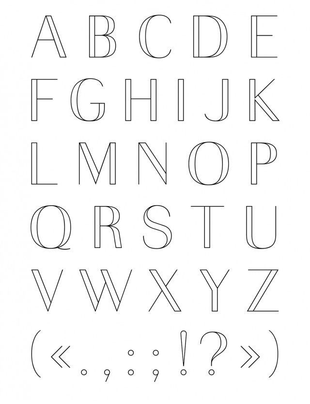 Alphabet Majuscule | Alphabet de l'écriture manuscrite, Alphabet majuscule, Fonts de lettrage ...