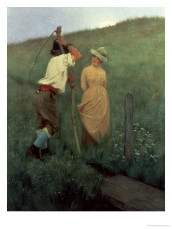 By Unfrequented Ways Giclee Print - 9 x 12 in William Henry Gore