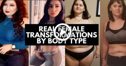 Real Female #Transformations By Body Type #fitness