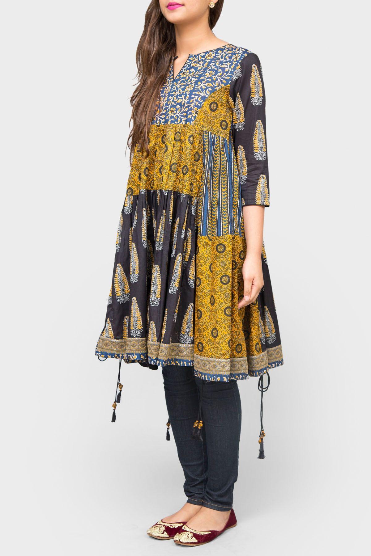 Pakistani Cotton Dresses 2019