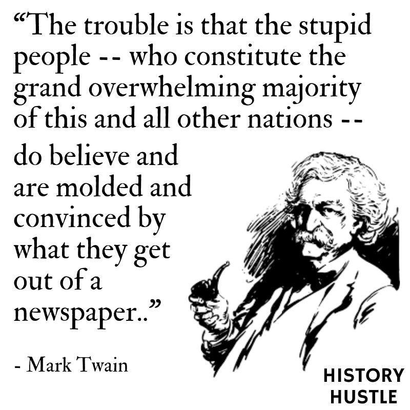 10 of Mark Twain's Sickest Burns