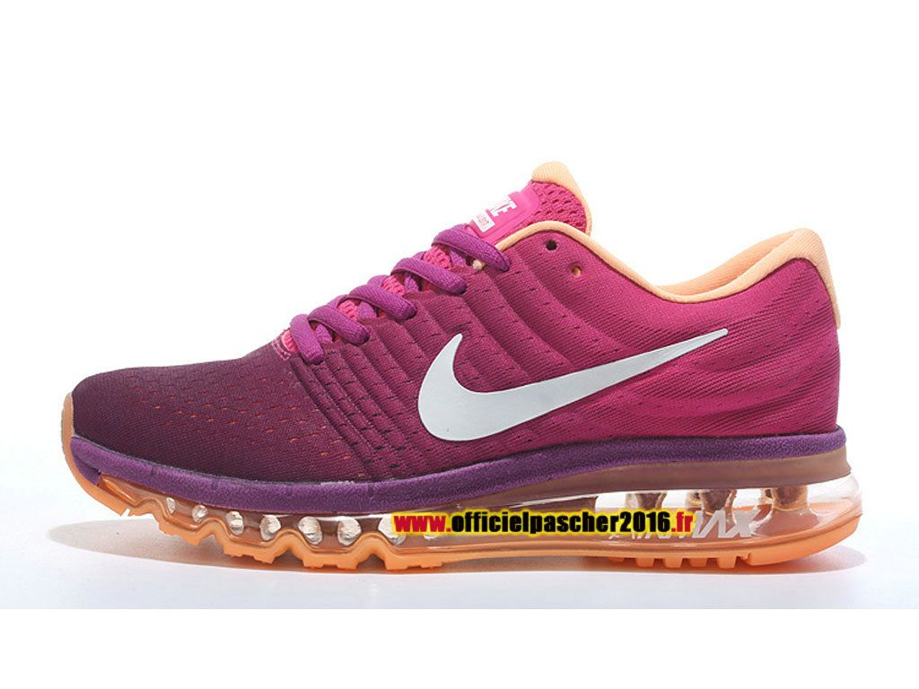 Nike Air Max 2017 Chaussures Nike Sportswear Pas Cher Pour Femme pourpre