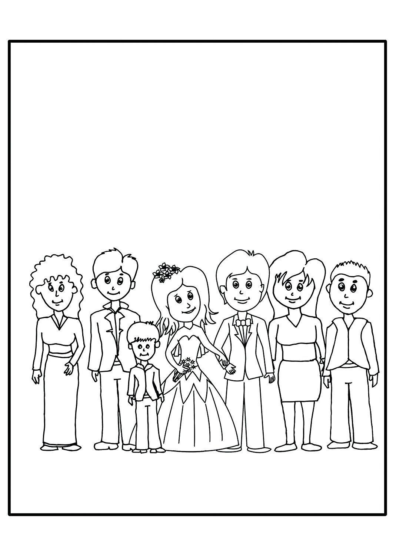 29er-Set Mein Hochzeitsmalbuch (je zwölf Seiten) inkl. 29 x
