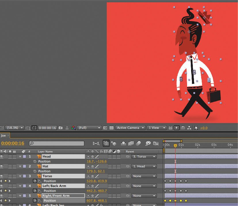 after effects tutorial  design and animate a stylish 50s cartoon character