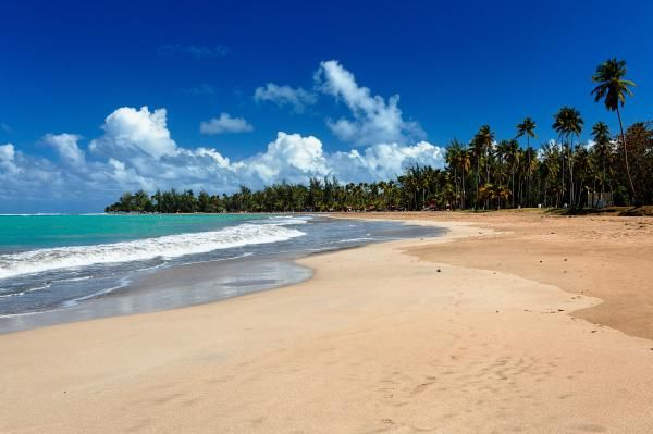 Luquillo Beach By George Oze