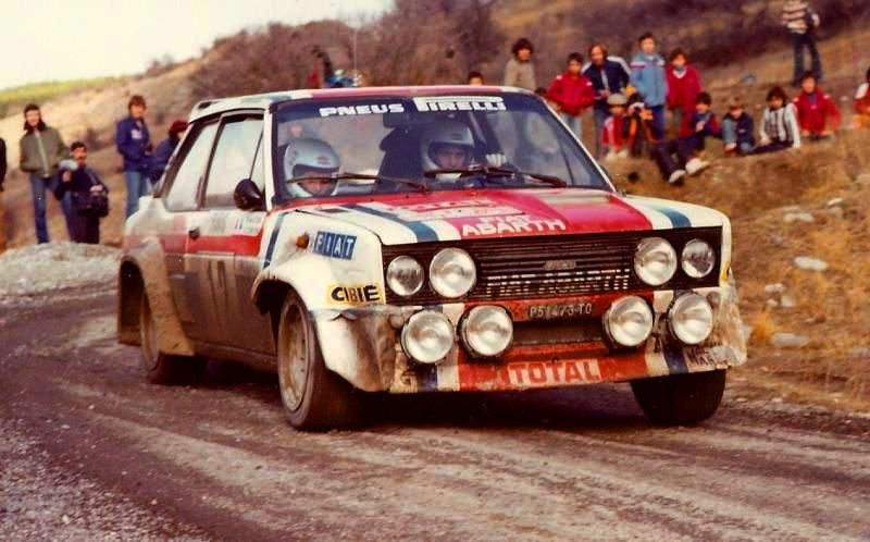 1979 Mouton Fiat 131 Abarth With Images Rally Car Fiat Sport
