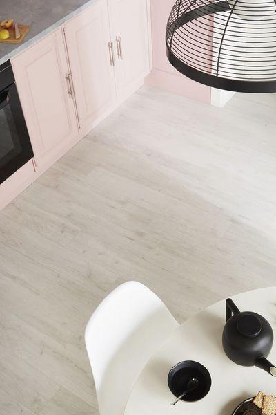 Lame PVC Senso adjust, coloris Sunnywhite, fixation autoplombante - fixer plan de travail cuisine