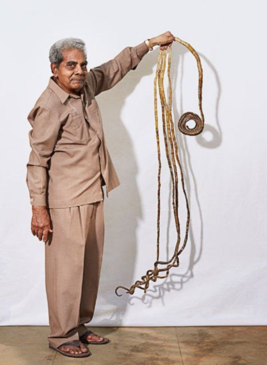 Shridhar Chillal, the Man with Longest Nails On Earth | Wiered-Word ...