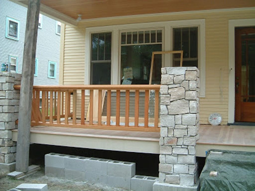 Exterior Charming Craftsman Front Porch Railing Ideas Cool Front Porch Using Azek Decking W Shutters Exterior Craftsman Front Porches Interior Window Shutters