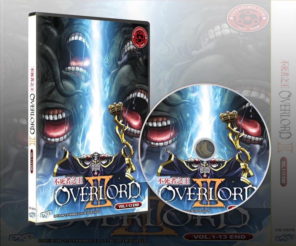 OVERLORD SEASON 3 VOL.113 END ANIME DVD ENGLISH DUBBED