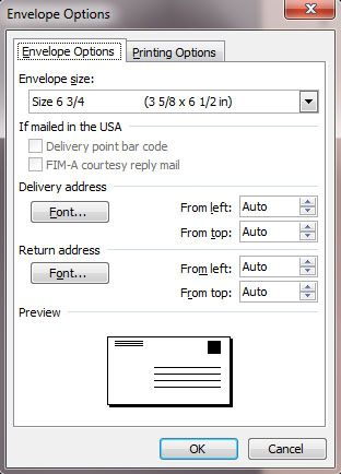 easy way to address envelopes using Microsoft Word Wedding Love - address label format