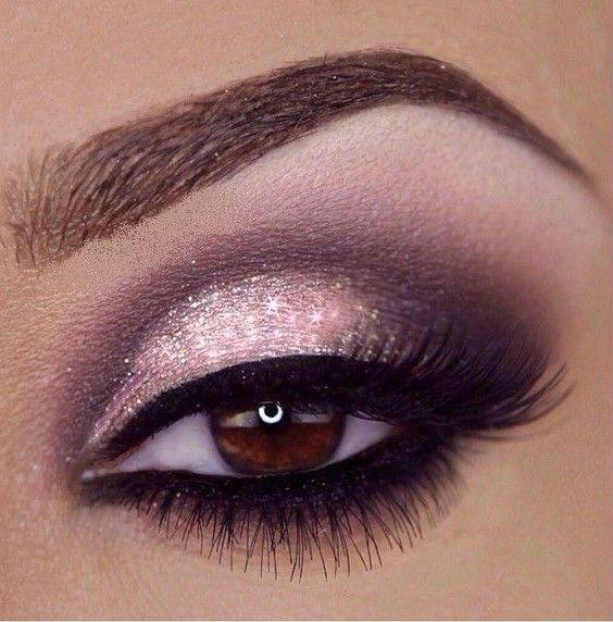 Wedding Makeup Gorgeous Smokey Pink Purple Eyes 3 Day Eye Makeup Pink Eye Makeup Purple Eye Makeup